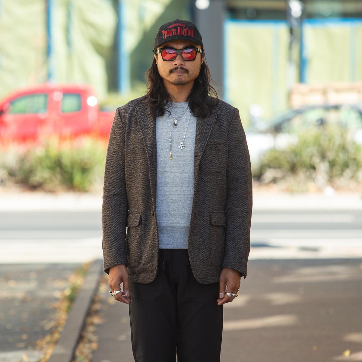 1p - Evans Jacket - Brown Herringbone Knit Wool-Onbody-5760 x 3840-01.jpg