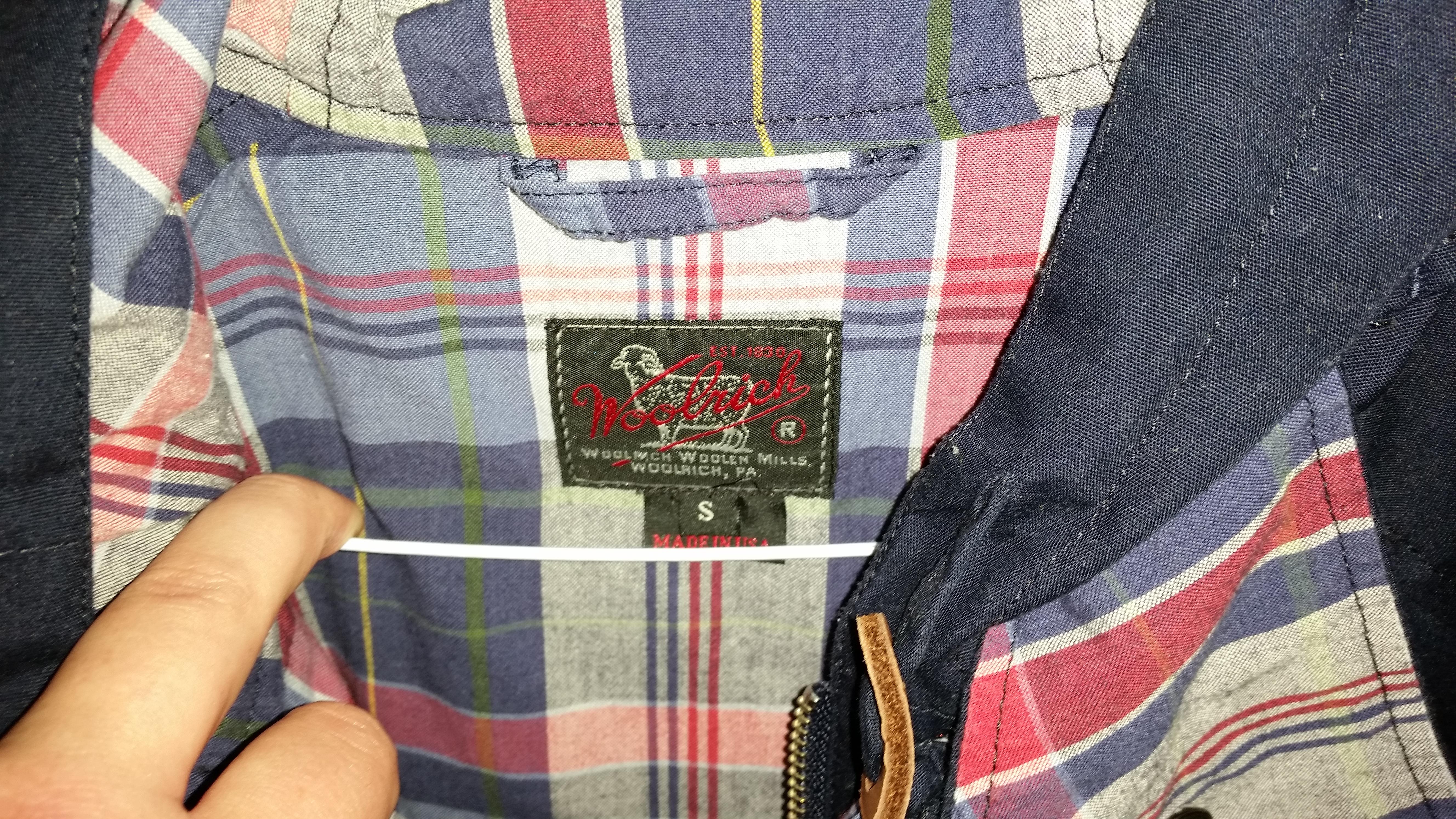 Woolen Woolrich Navy Trail Styleforum Mills Parka aqrCqdwxO