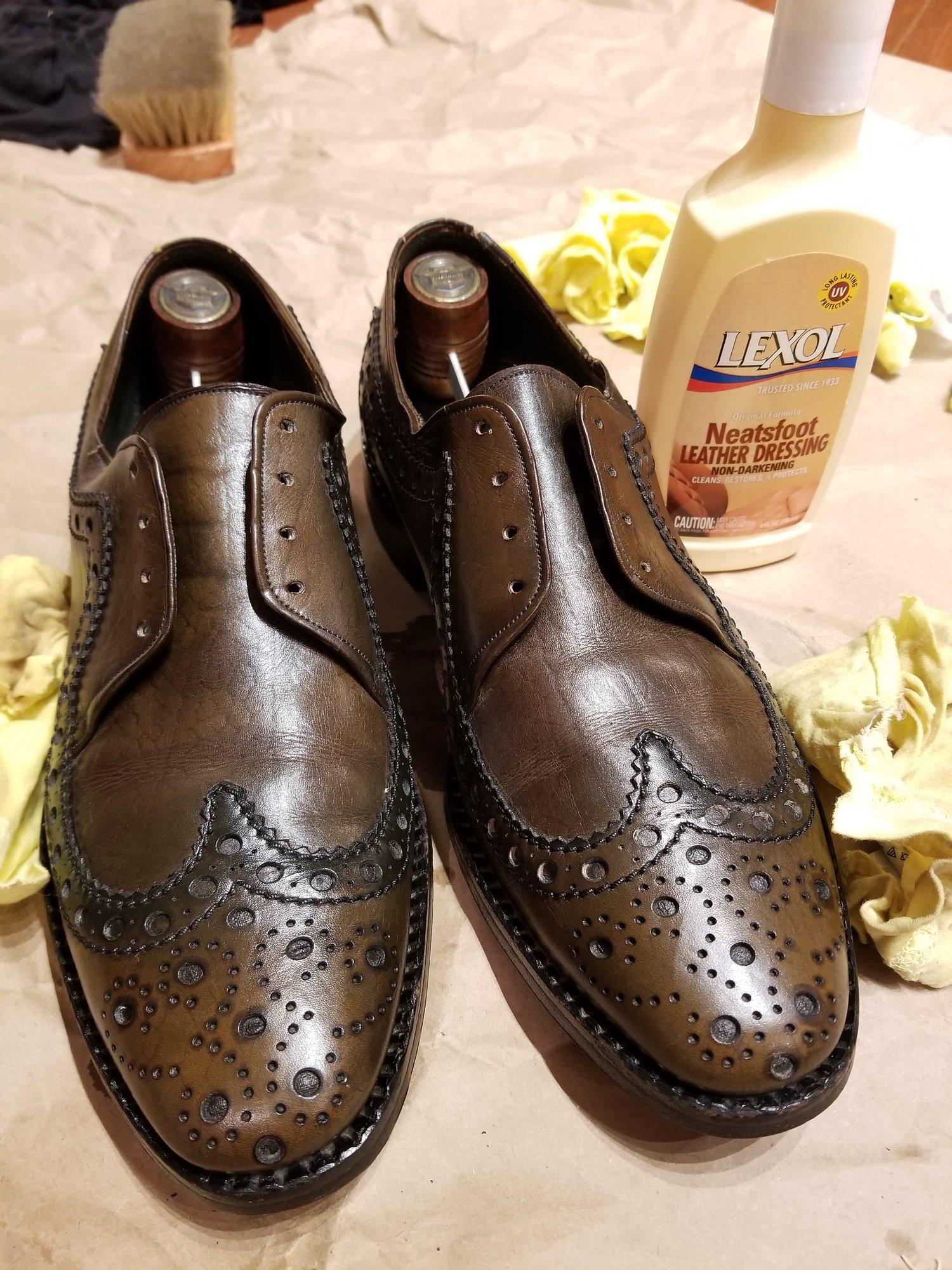 Johnston & Murphy Hess Black/Brown dress shoe size 9