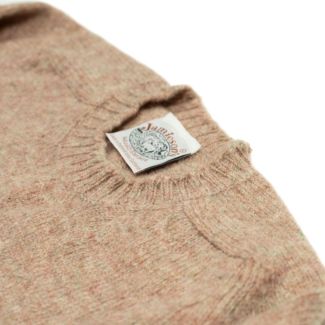 20201124 20200919 NMWA Jamiesons Shetland wool sweater oyster blush pink 02.jpg