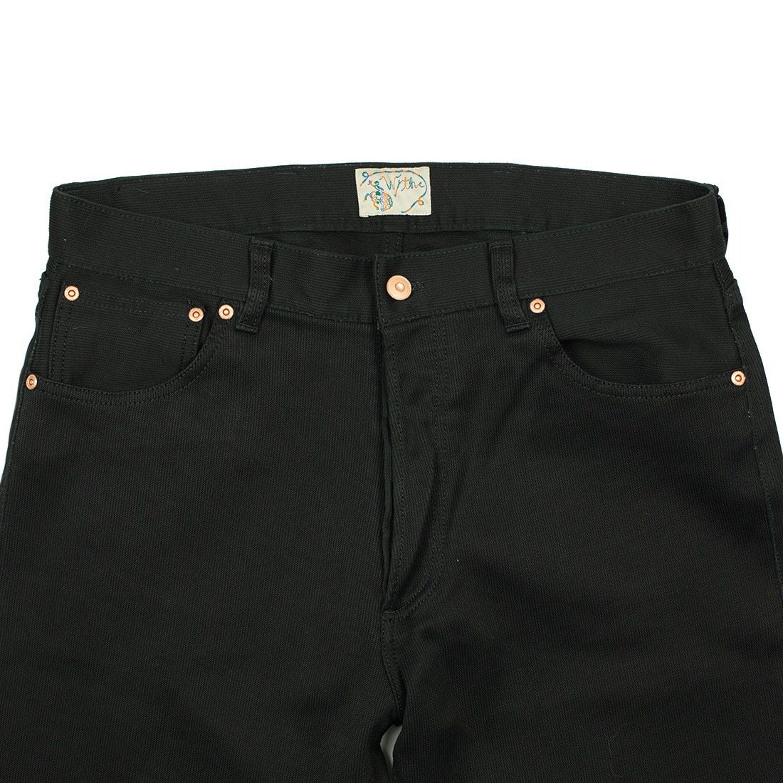 20201124 NMWA Wythe Five pocket pants in black Japanese bedford cord 07.jpg