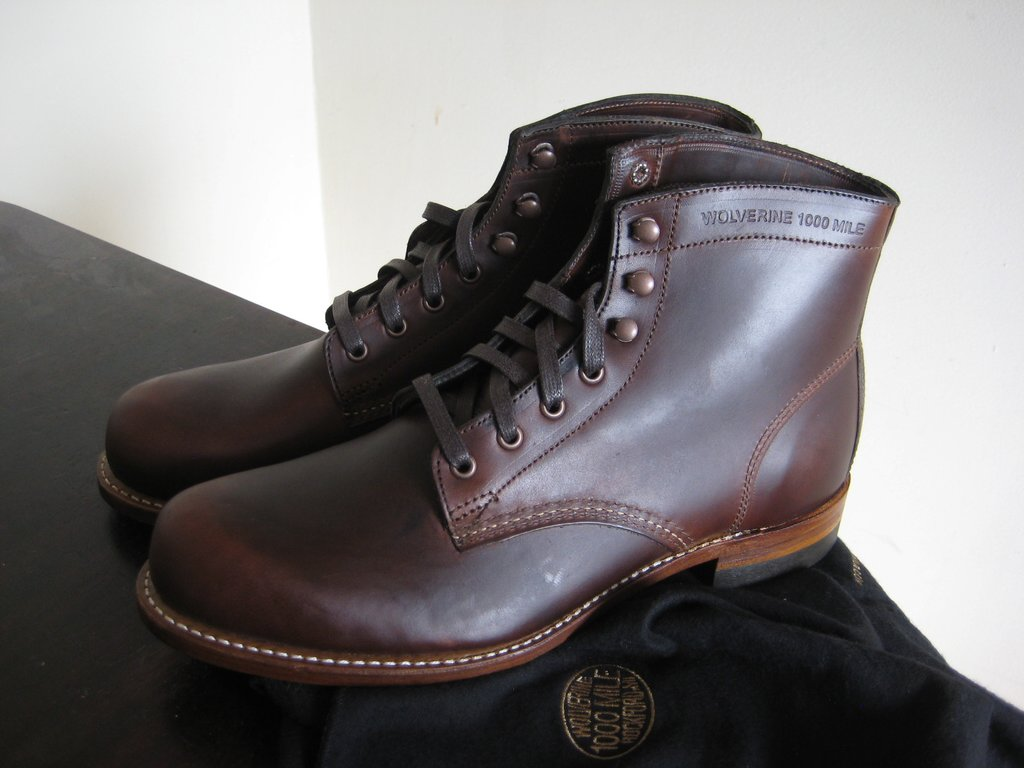 wolverine 1000 mile brown or rust multiple sizes also austen