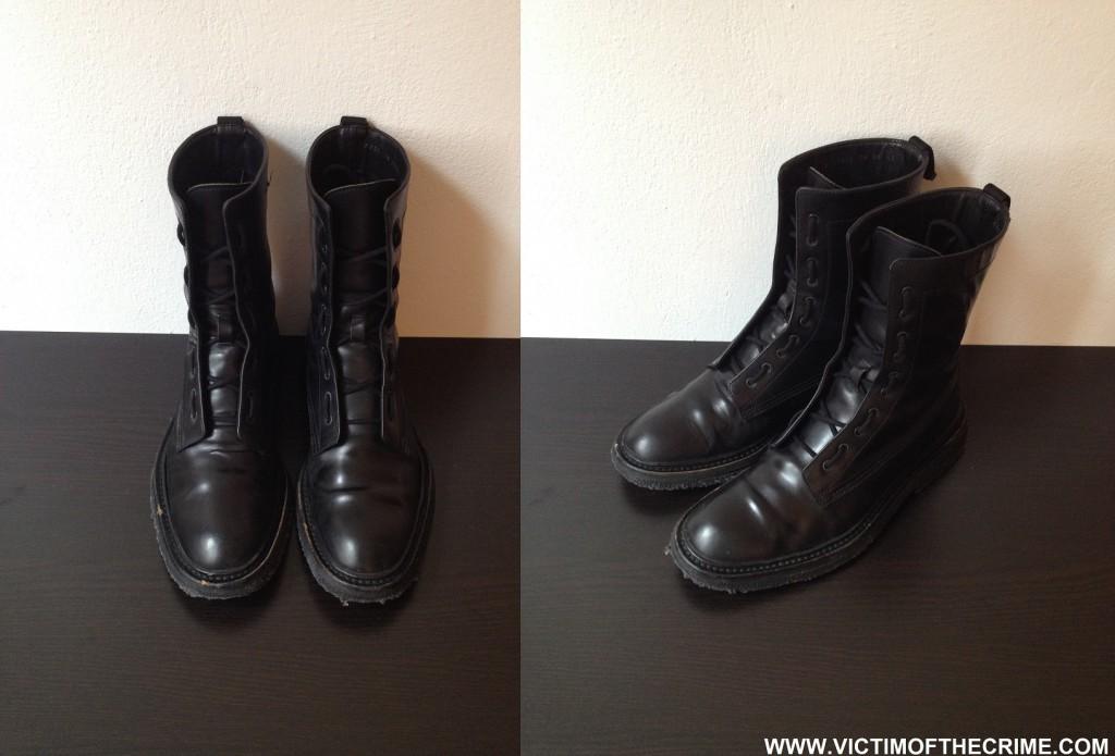 2fffb047c003 Dior Homme AW07 Combat Boots 44 45   Styleforum