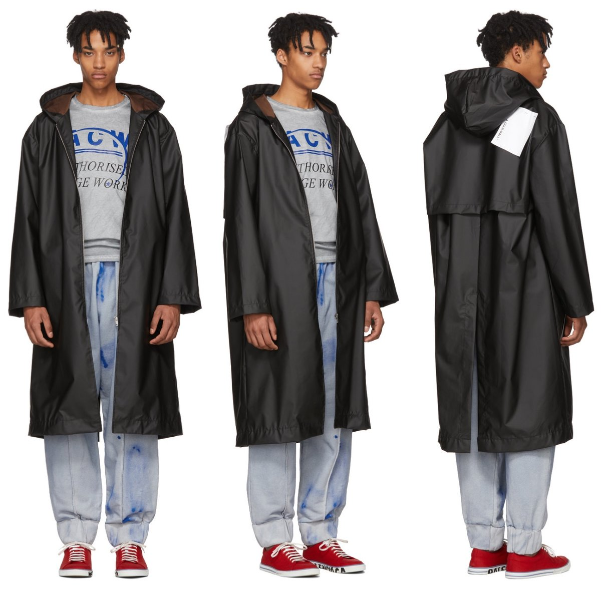 A-Cold-Wall Black Hooded Raincoat.jpg
