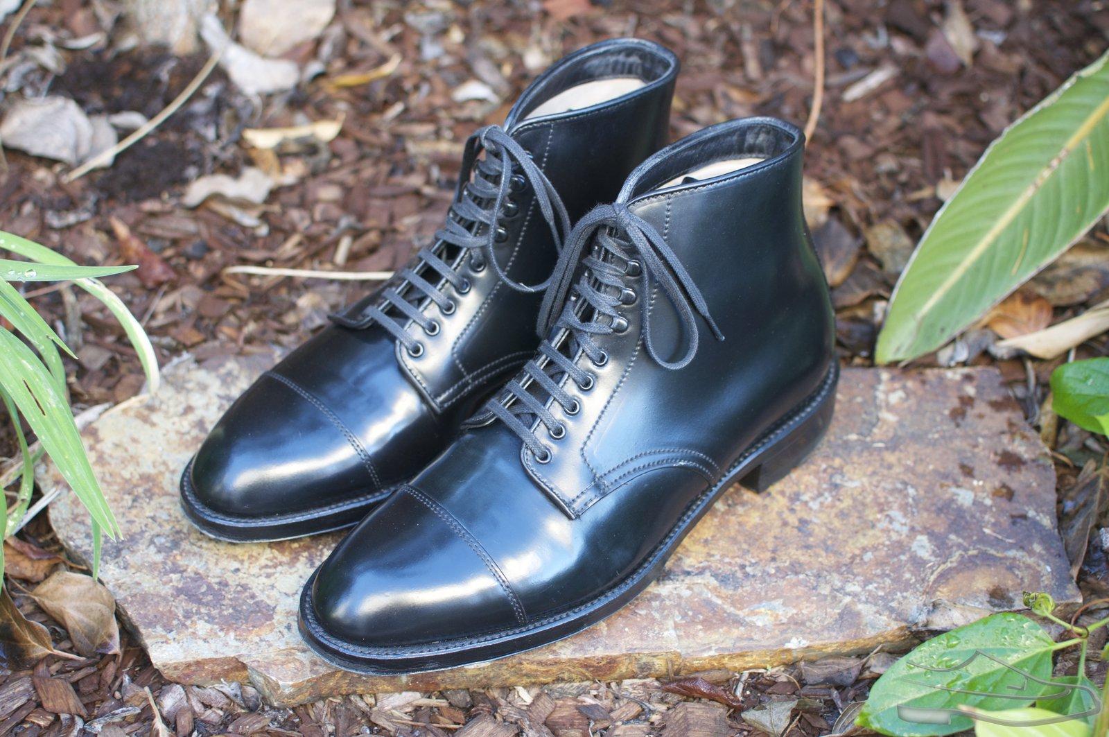 Alden Black Shell Cordovan CT Boots - 2021-04-07 - 1.jpg