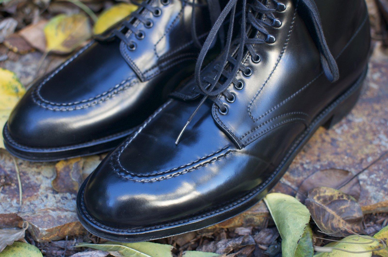 Alden Black Shell Cordovan U-Tip Boots - 2020-11-27 - 2.jpg