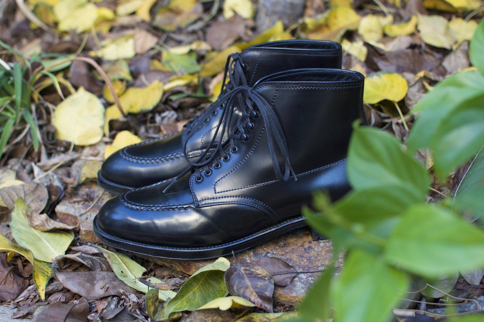 Alden Black Shell Cordovan U-Tip Boots - 2020-11-27 - 3.jpg