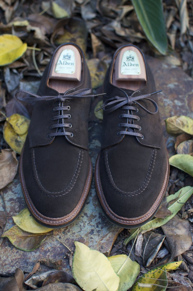 Alden Choco Suede U-Tip Saddle Shoes - 2020-11-28 - 4.jpg