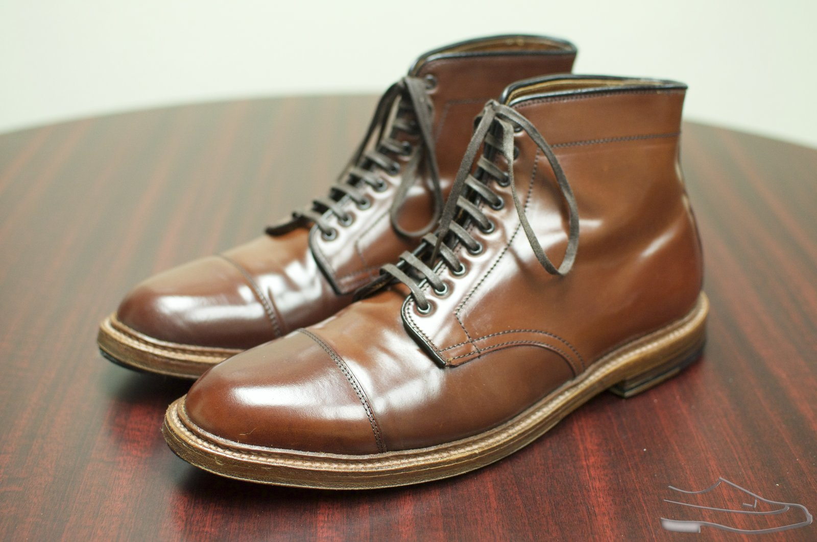 Alden Color #4 Shell Cordovan CT Boots - 2020-09-30 - 1.jpg