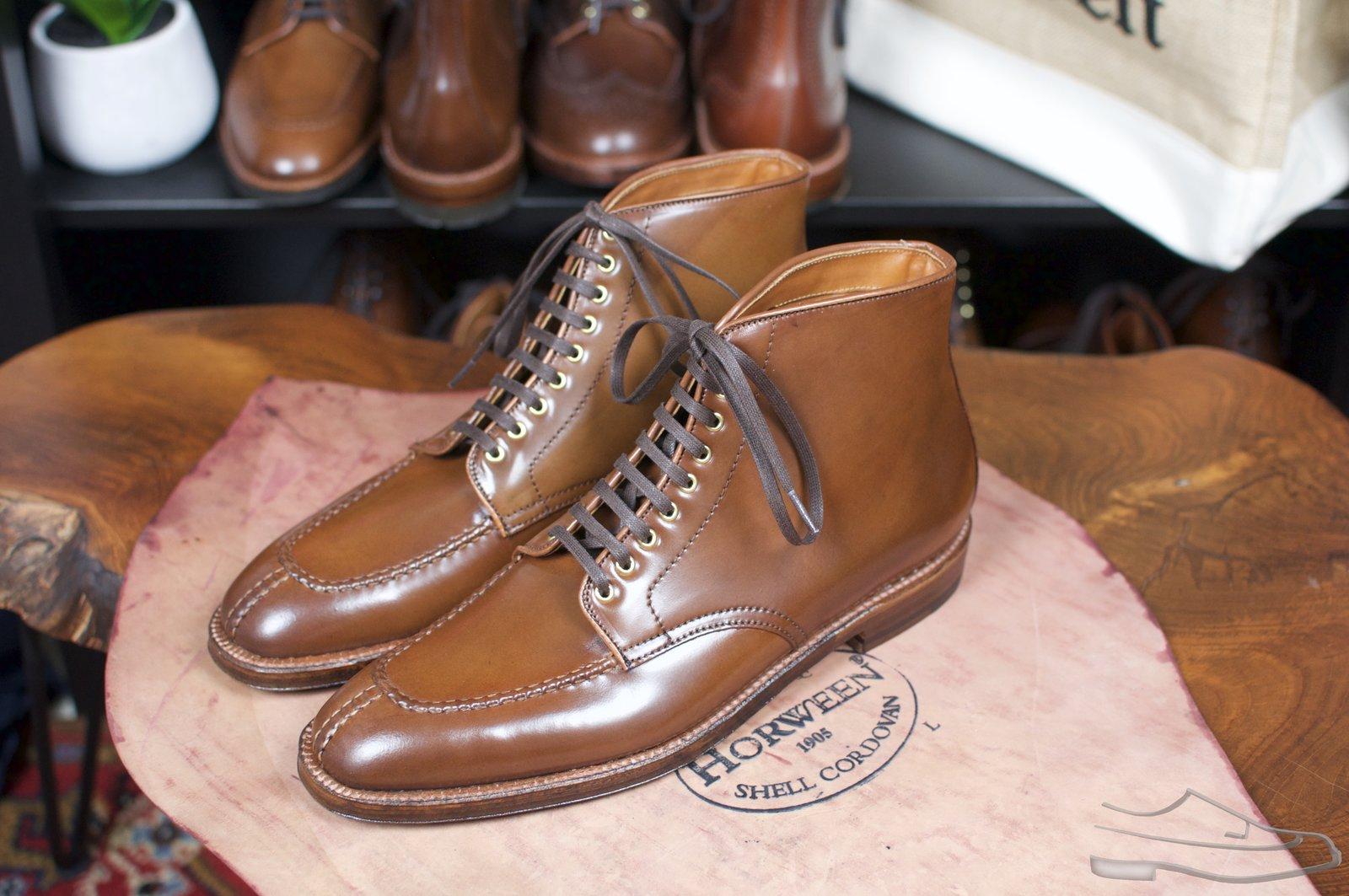 Alden Ravello Shell Cordovan Plaza NST Boots - 2.jpg