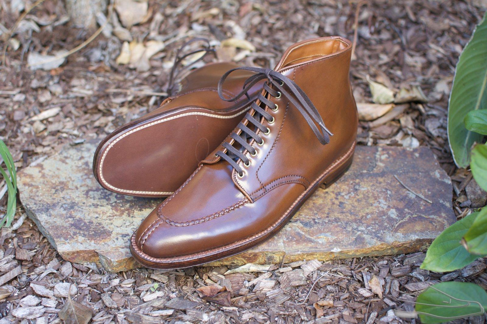 Alden Ravello Shell Cordovan Plaza NST Boots - 42.jpg
