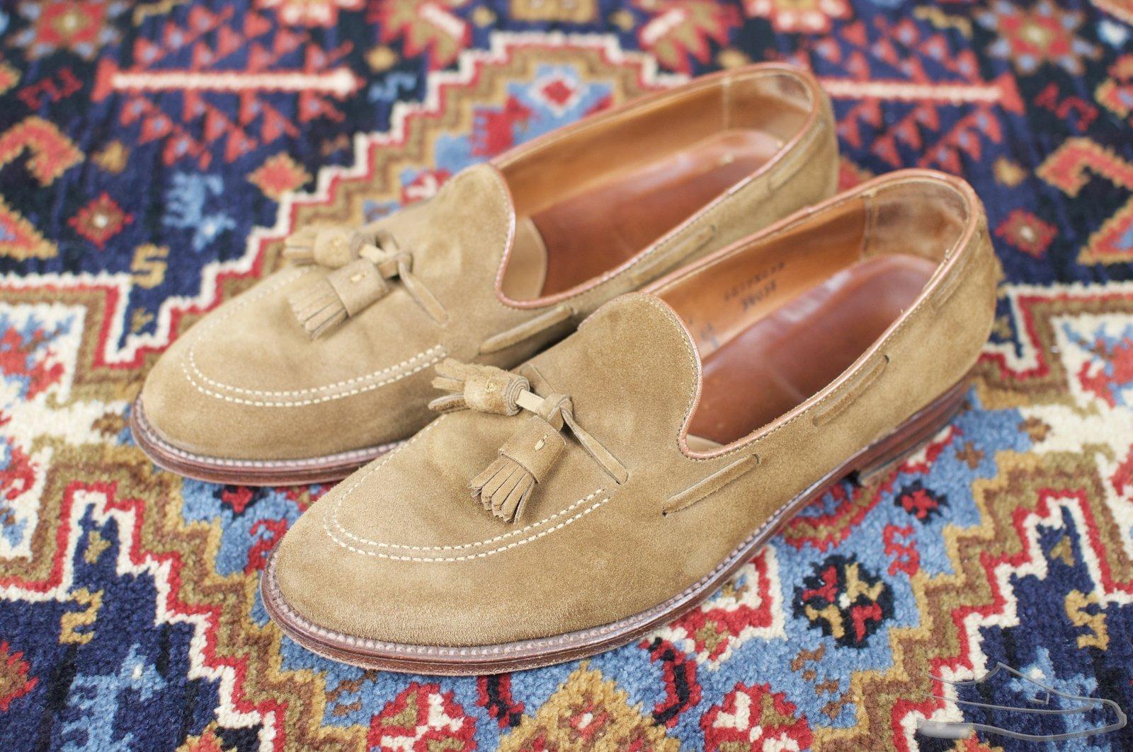 Alden Snuff Suede Tassel Loafers - 2020-09-19 - 1.jpg