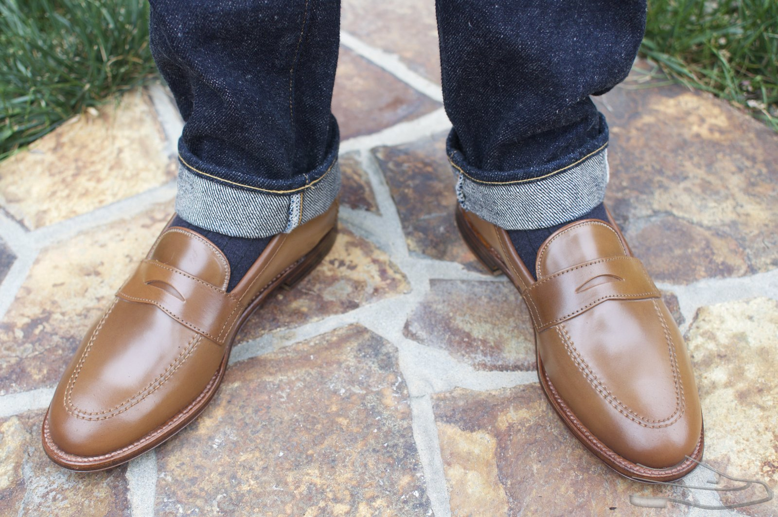Alden Whiskey Shell Cordovan Penny Loafers - 2021-05-15 - 12.jpg