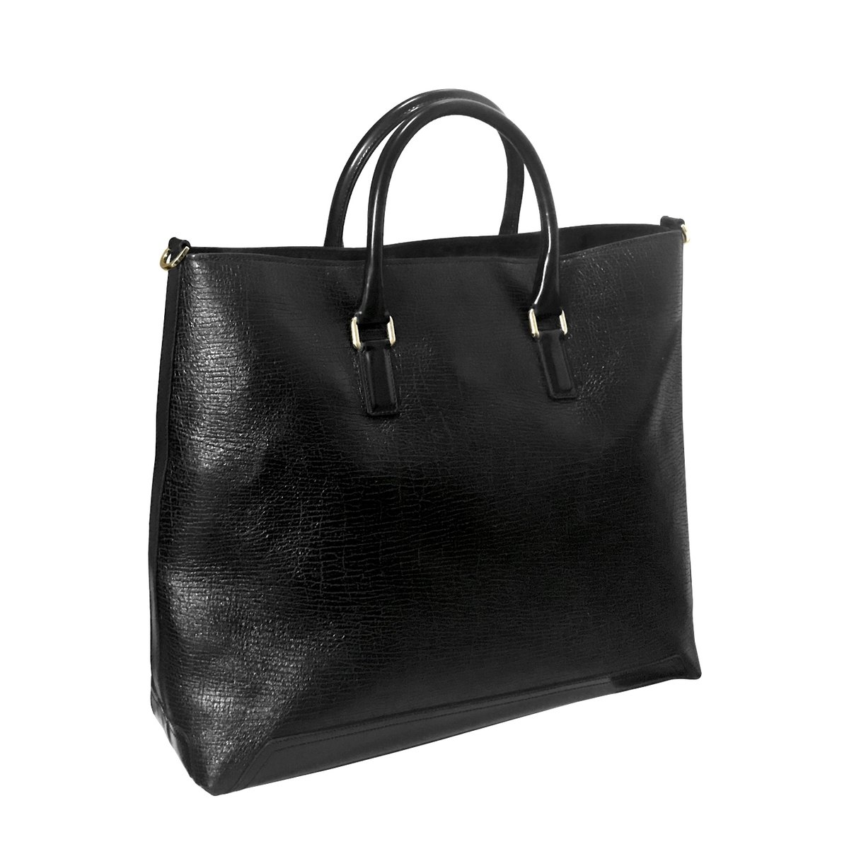 Andrea Incontri Textured Leather Tote Bag 1.jpg
