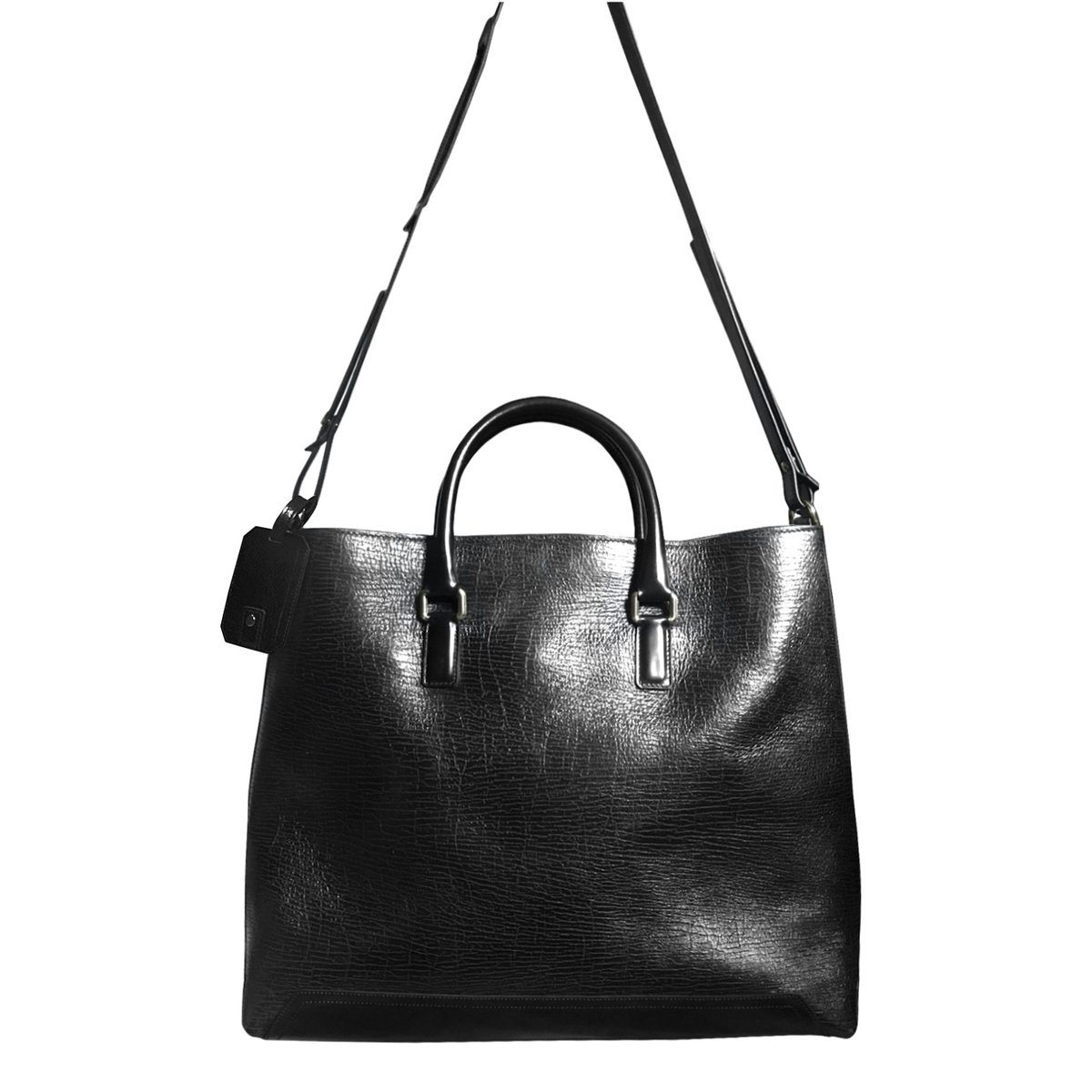 Andrea Incontri Textured Leather Tote Bag.jpg