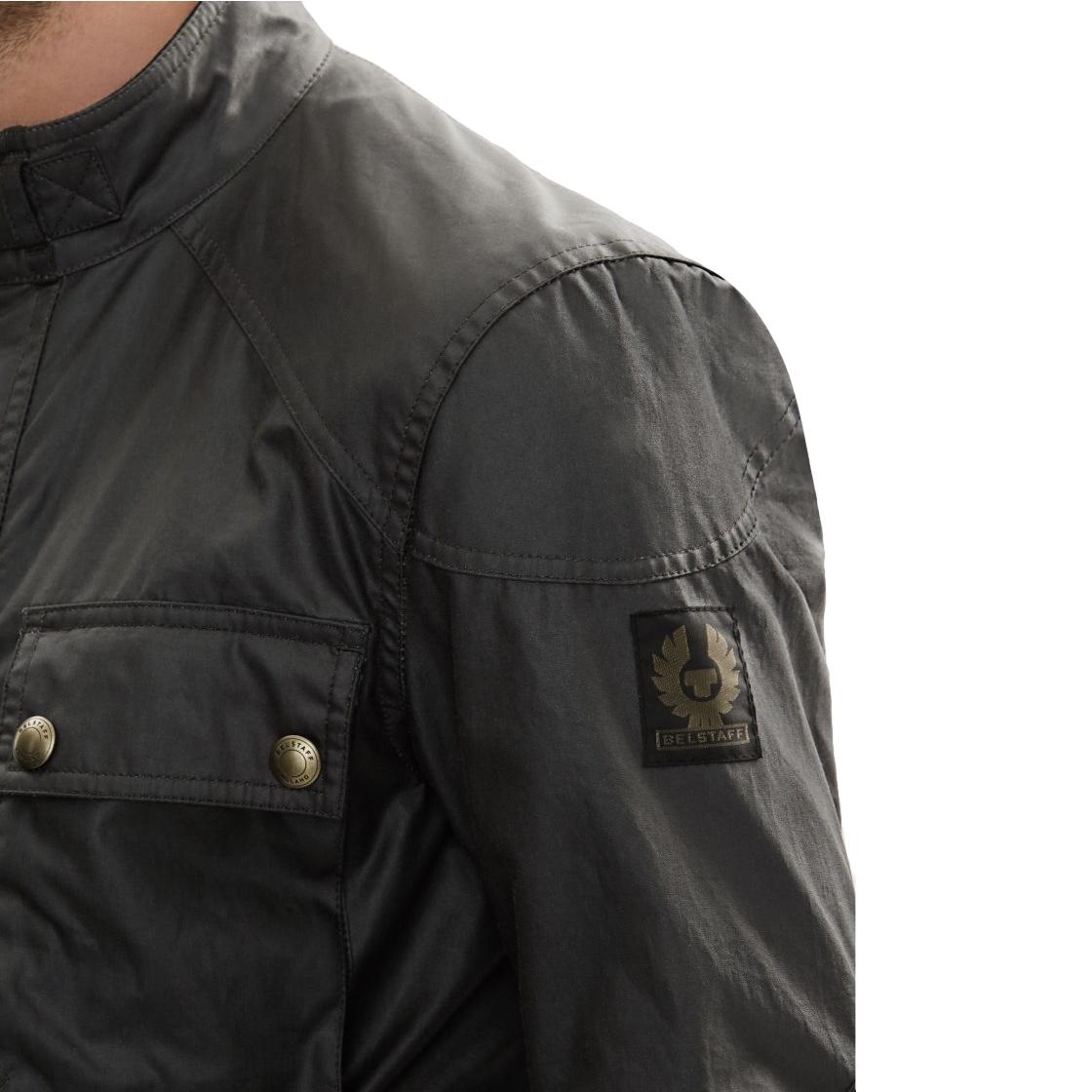 Belstaff The Roadmaster Jacket In Windward Grey Signature 6Oz Waxed Cotton Men 4.jpg