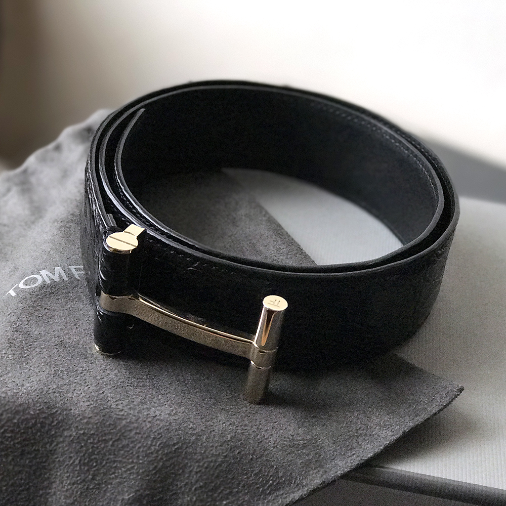accessories ford accessory belts belt s brown leather men en tom gold woven