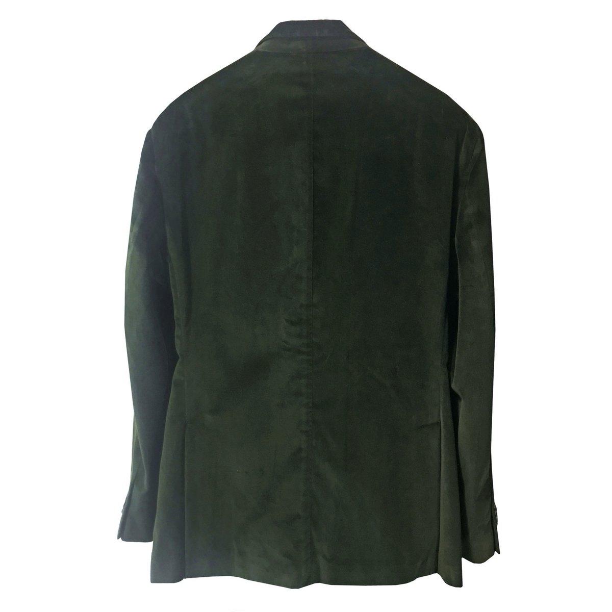 Boglioli Velvet K Jacket Green b.jpg