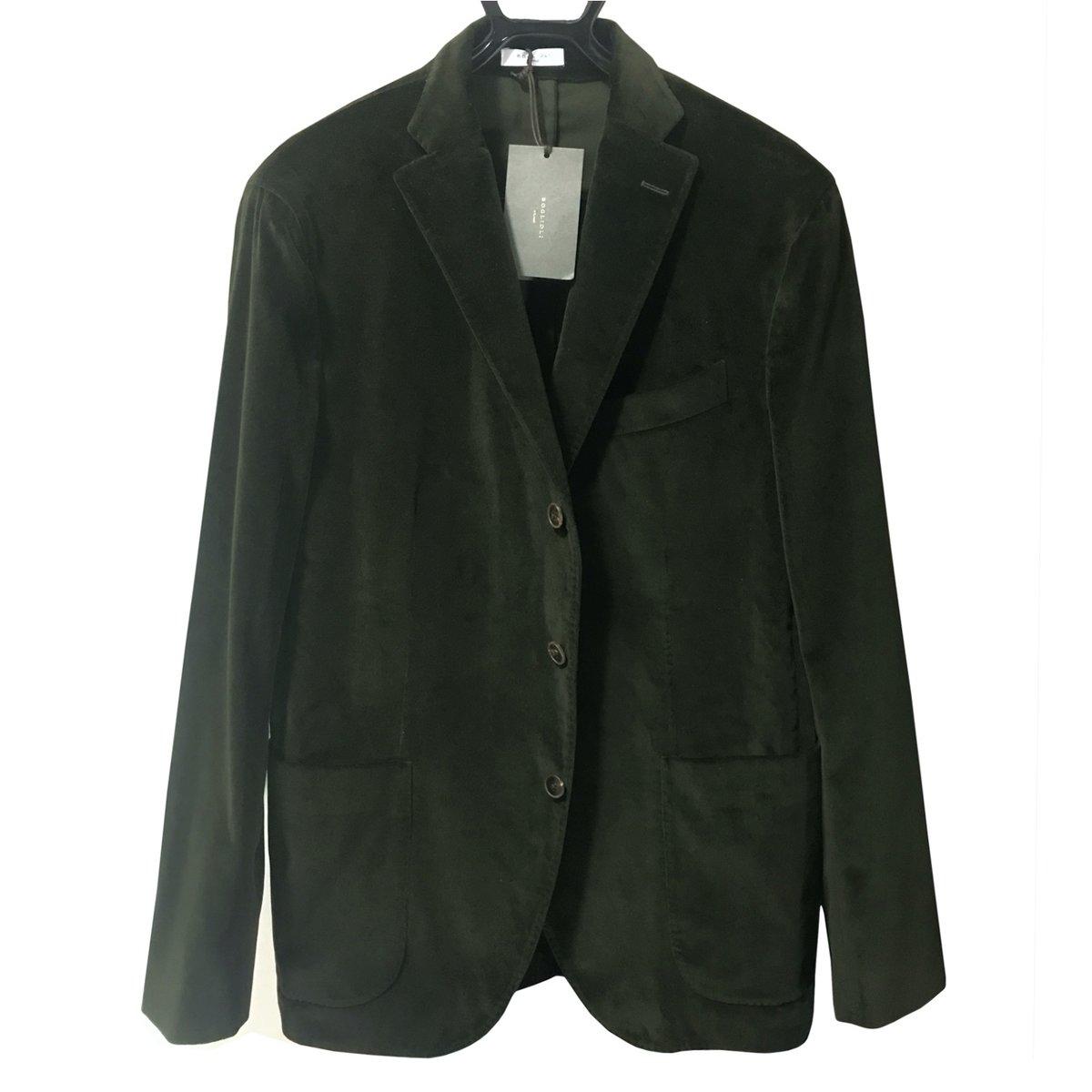 Boglioli Velvet K Jacket Green.jpg