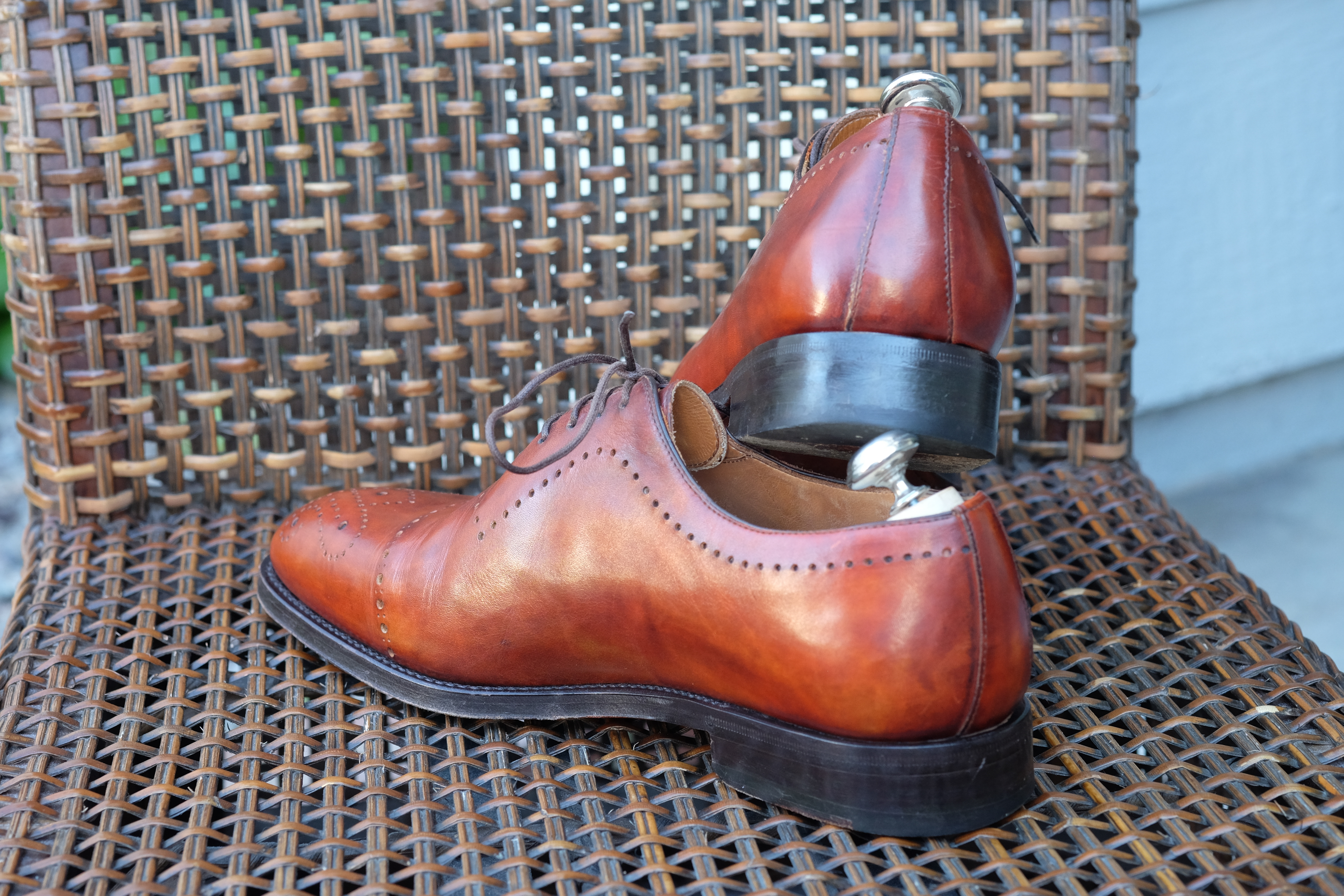 Bontoni Wholecut with Medallion and Punching in Chestnut Leather-8.jpg