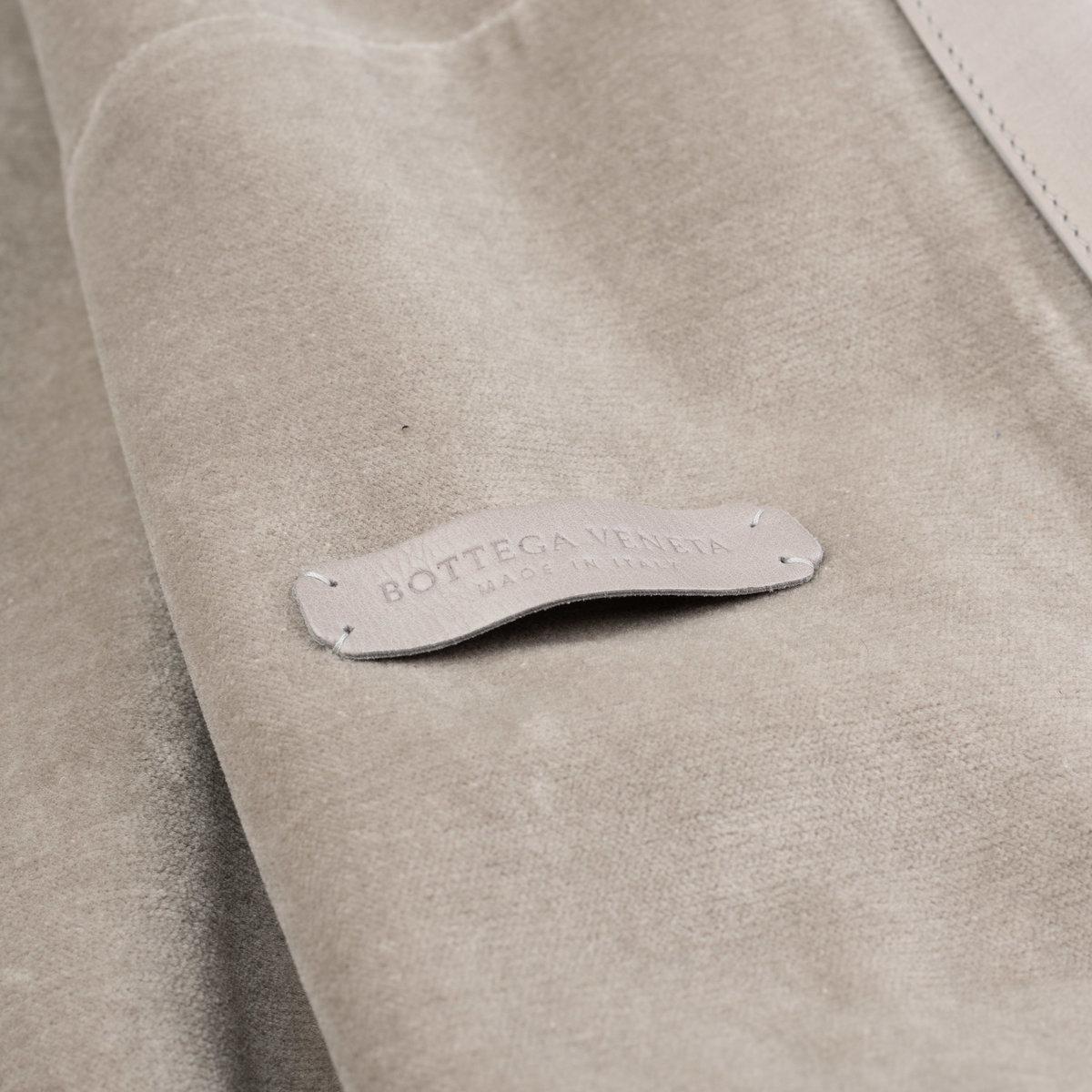 BOTTEGA VENETA Gray Taurus Leather Bomber Jacket with Velvet Cotton Lining 50 US M4.jpg