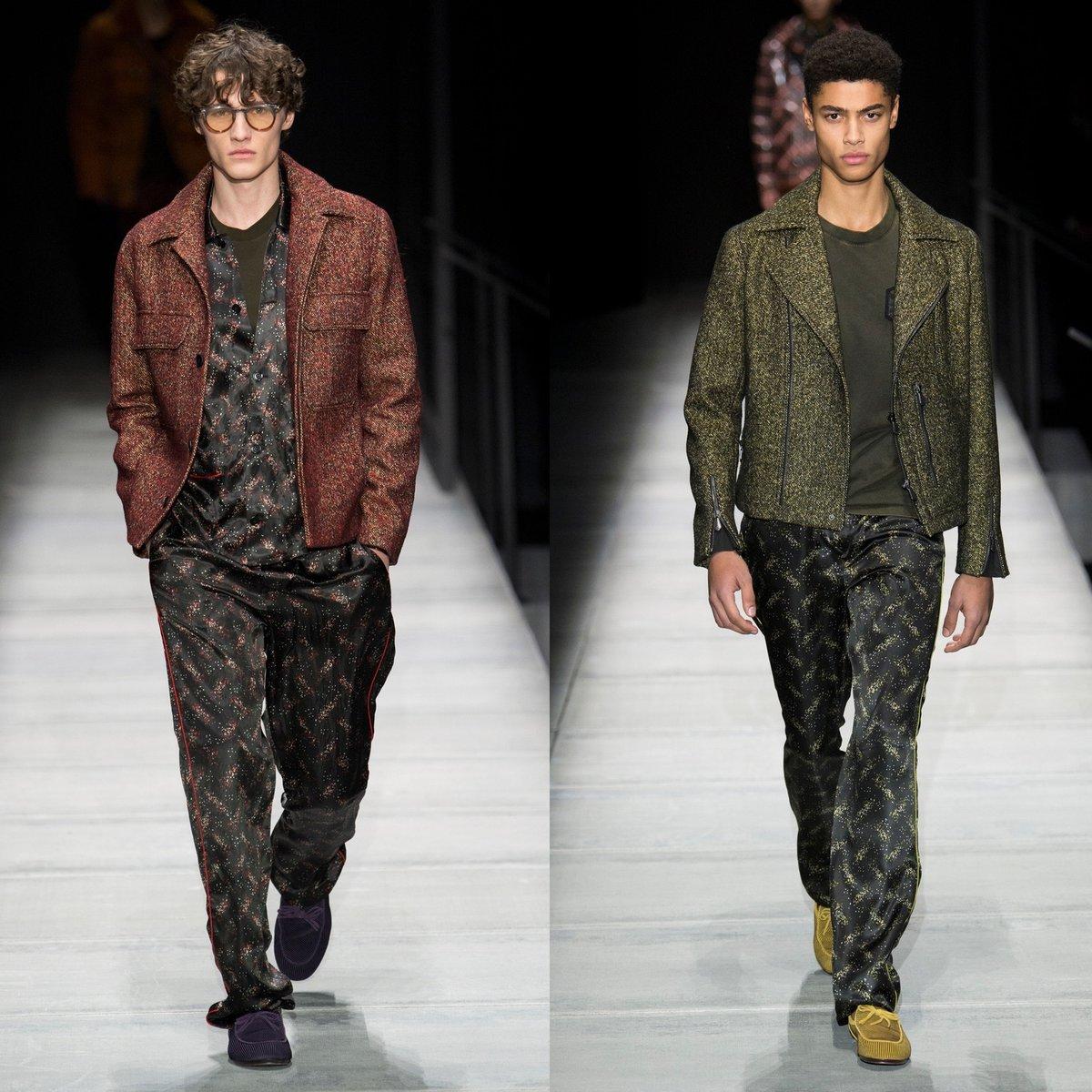 Bottega Veneta Silk Pajama Pants runway.jpg