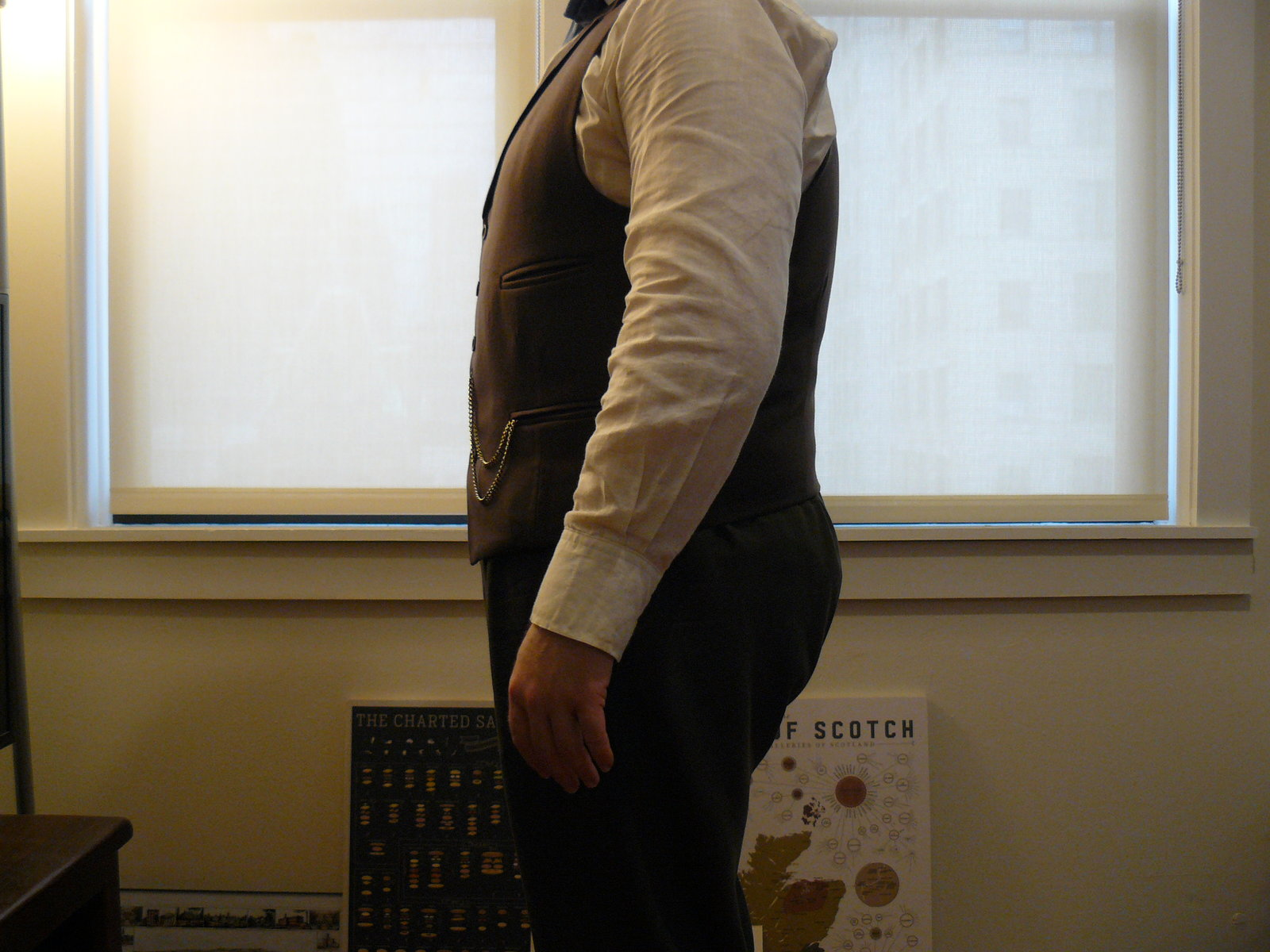 Brown Waistcoat from the Side.JPG