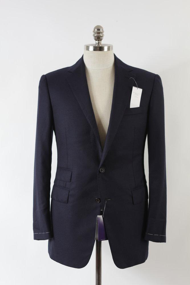 Cashmere navy Savile Row blazer 01.JPG