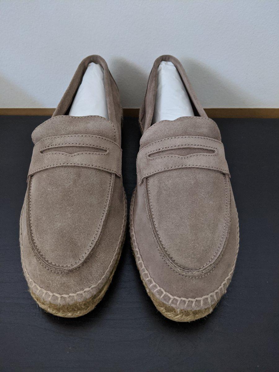 Castaner brown suede Espadrille Loafers - front.jpg