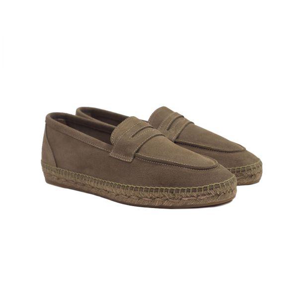 Castaner brown suede Espadrille Loafers.jpg