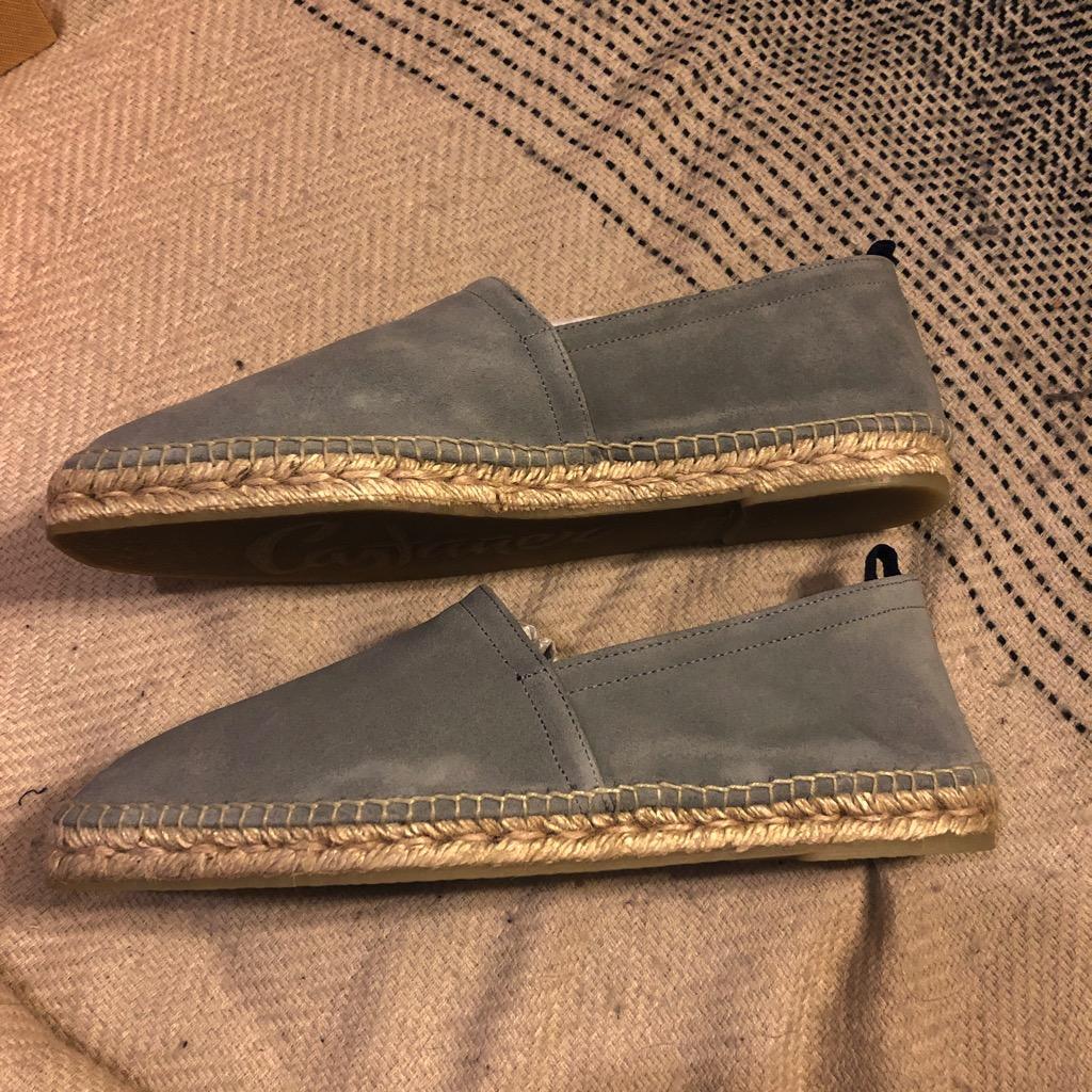 Castaner Pablo suede espadrilles in gray suede in size 44_2.jpg