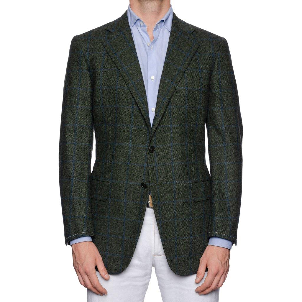 CASTANGIA_1850_Green_Plaid_Merino_Wool_Super_120_s_Flannel_Jacket_EU_50_NEW_US_407_1024x1024.jpg