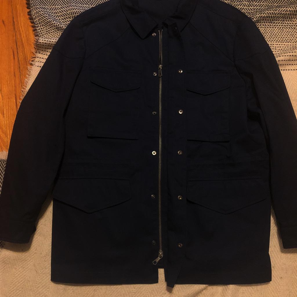 Christian Kimber navy field jacket in size XL_3.jpg