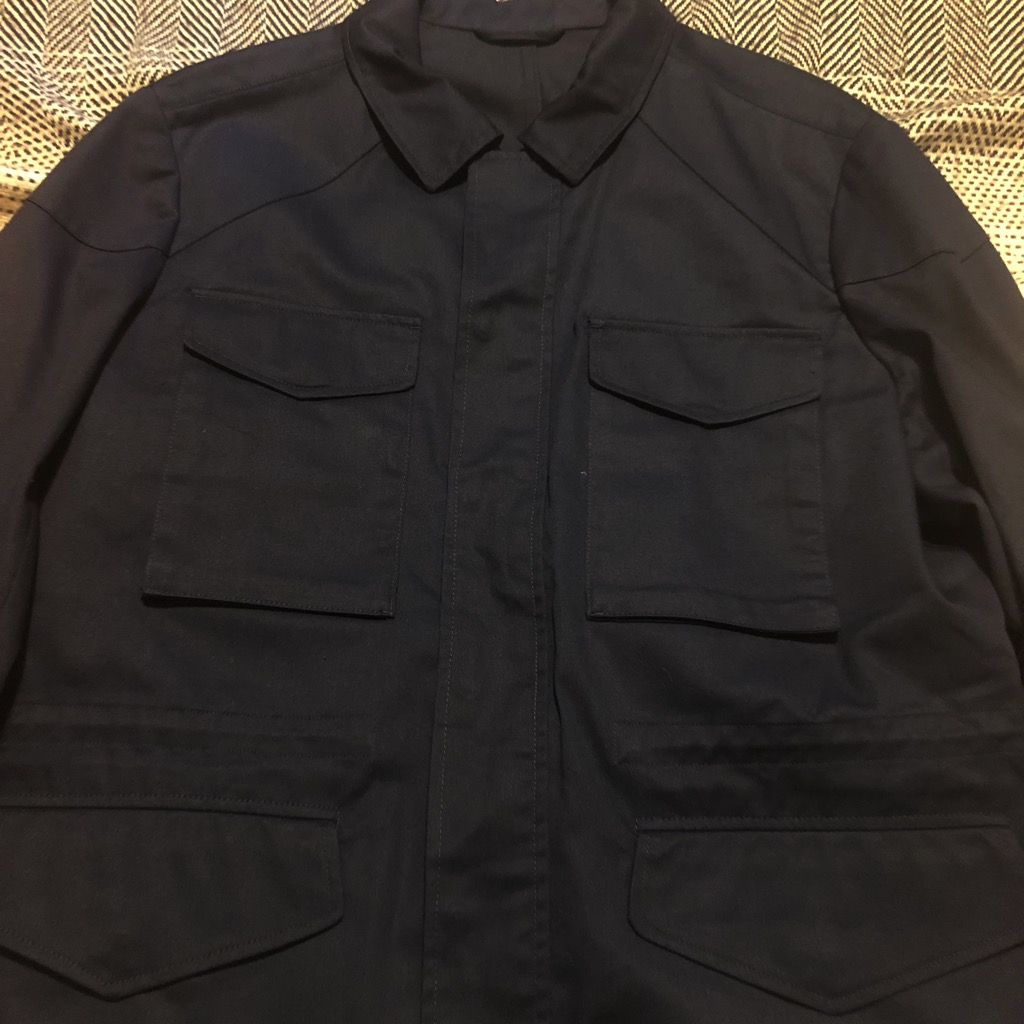 Christian Kimber navy field jacket in size XL_5.jpg