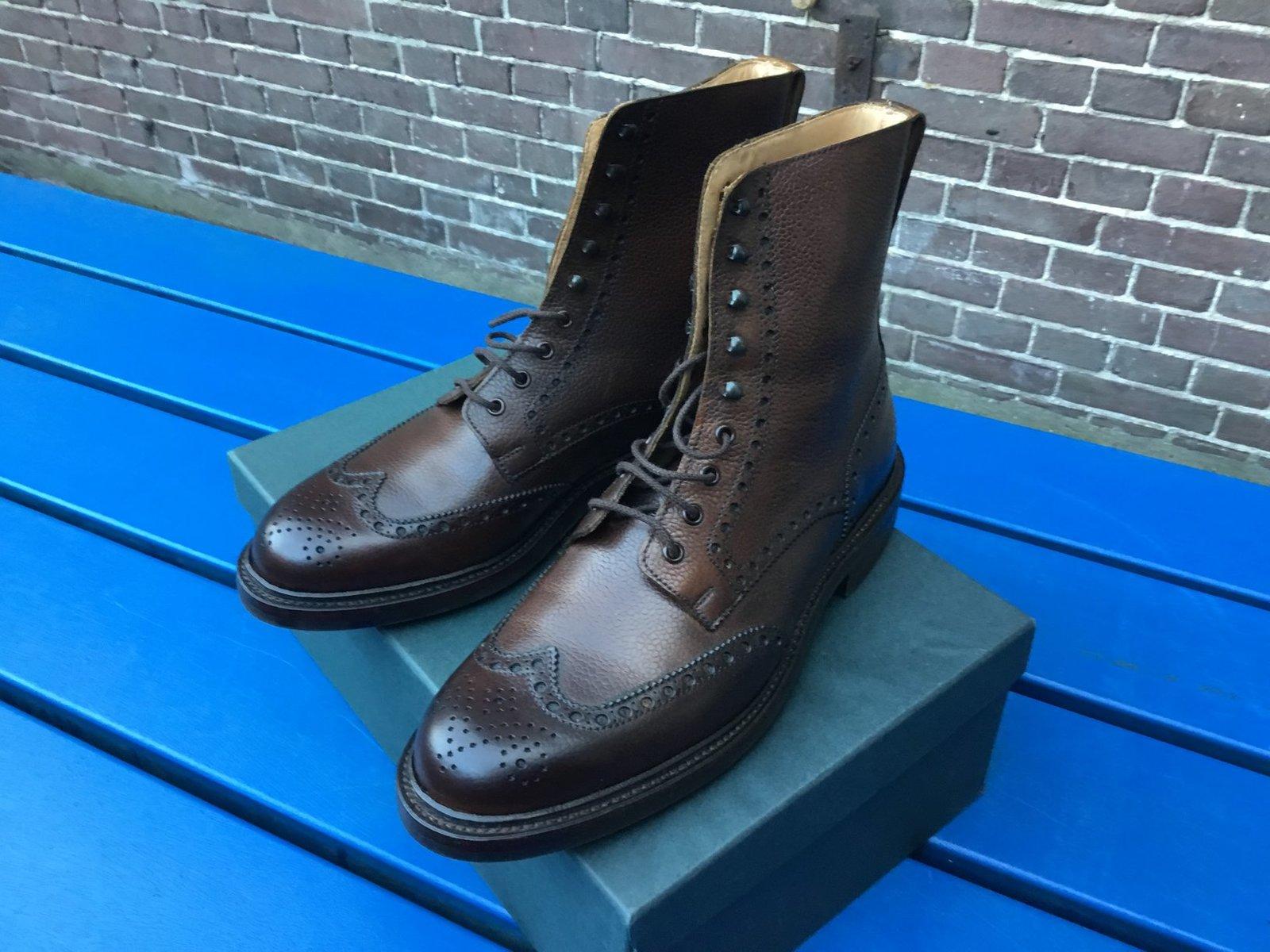 Crockett & Jones Islay Boot Dark Brown Scotch Grain 1.jpg