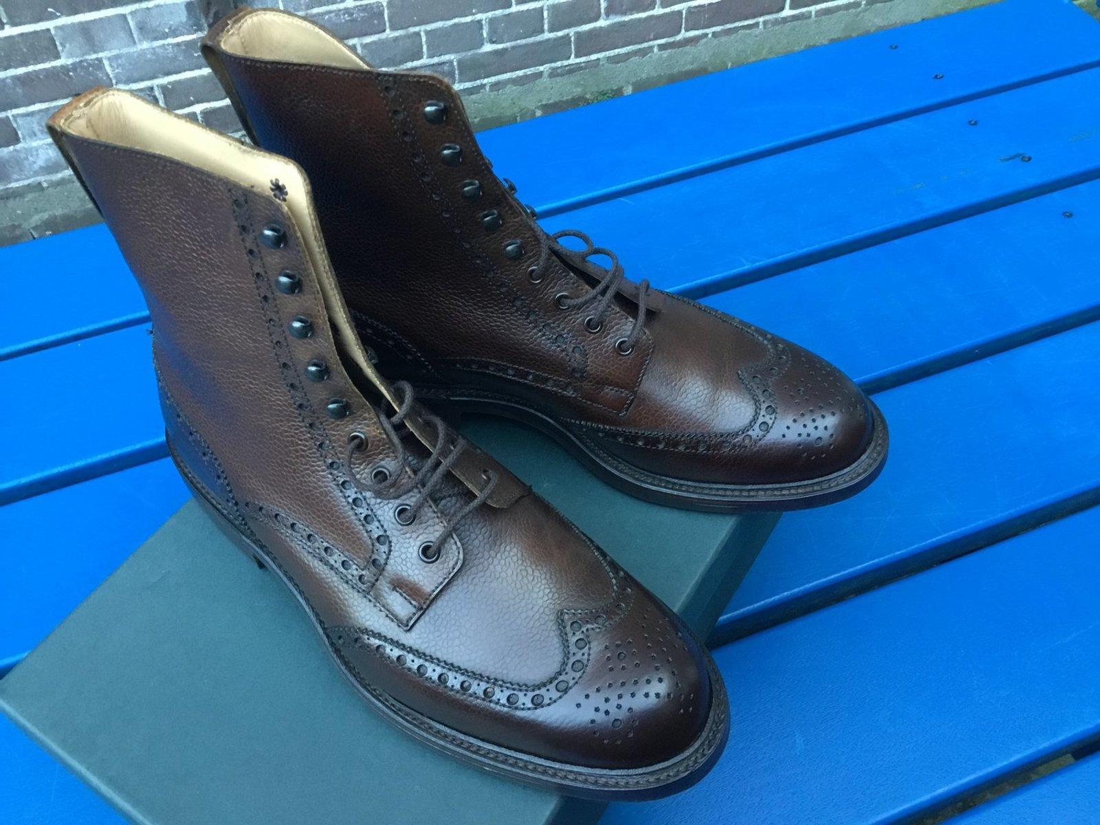 Crockett & Jones Islay Boot Dark Brown Scotch Grain 2.jpg