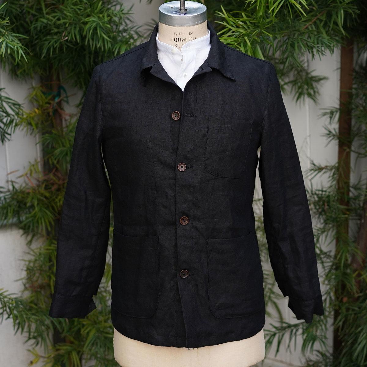 custom doyle black linen.jpg