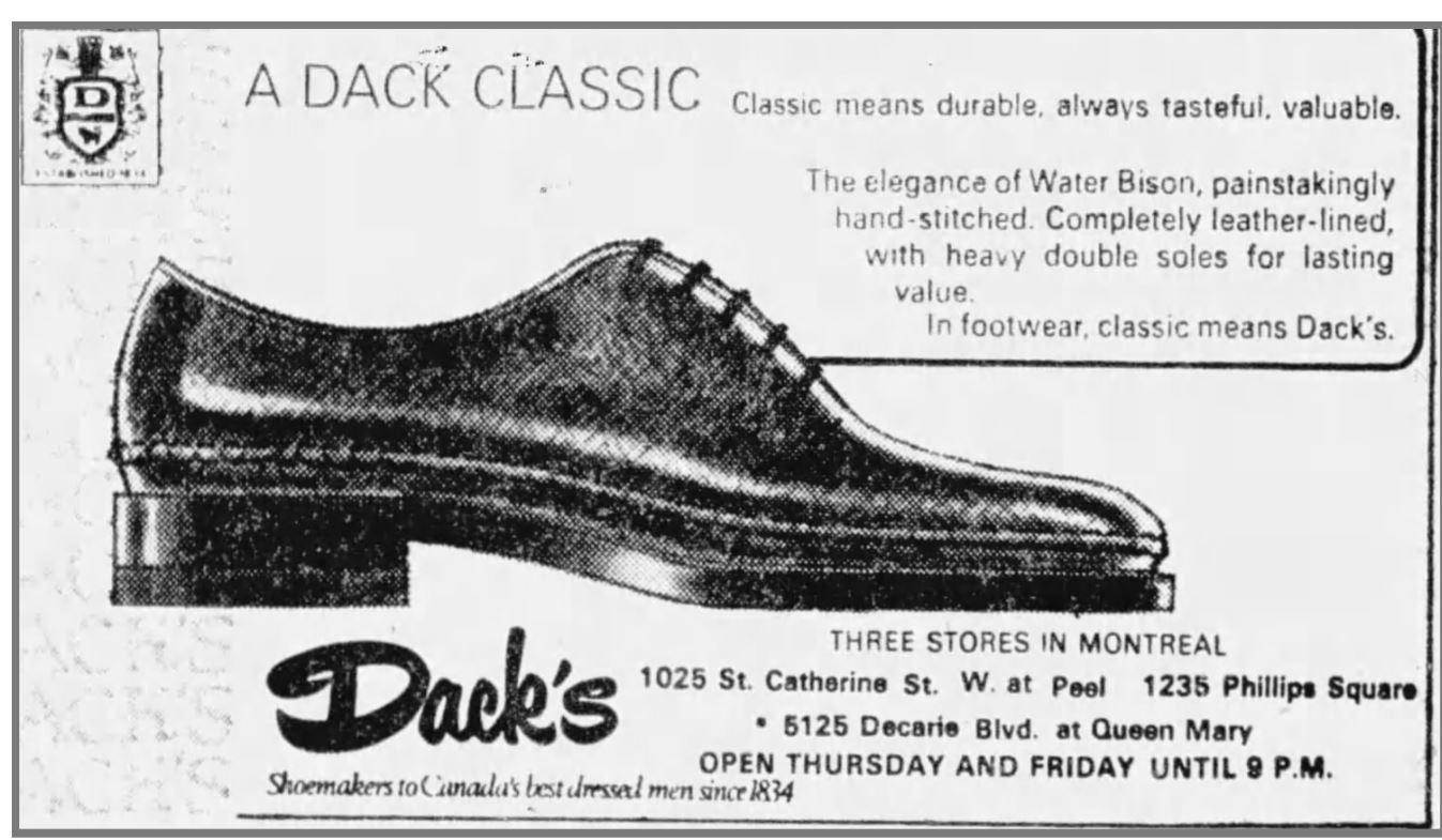Dacks water Bison whole cut 1976.JPG