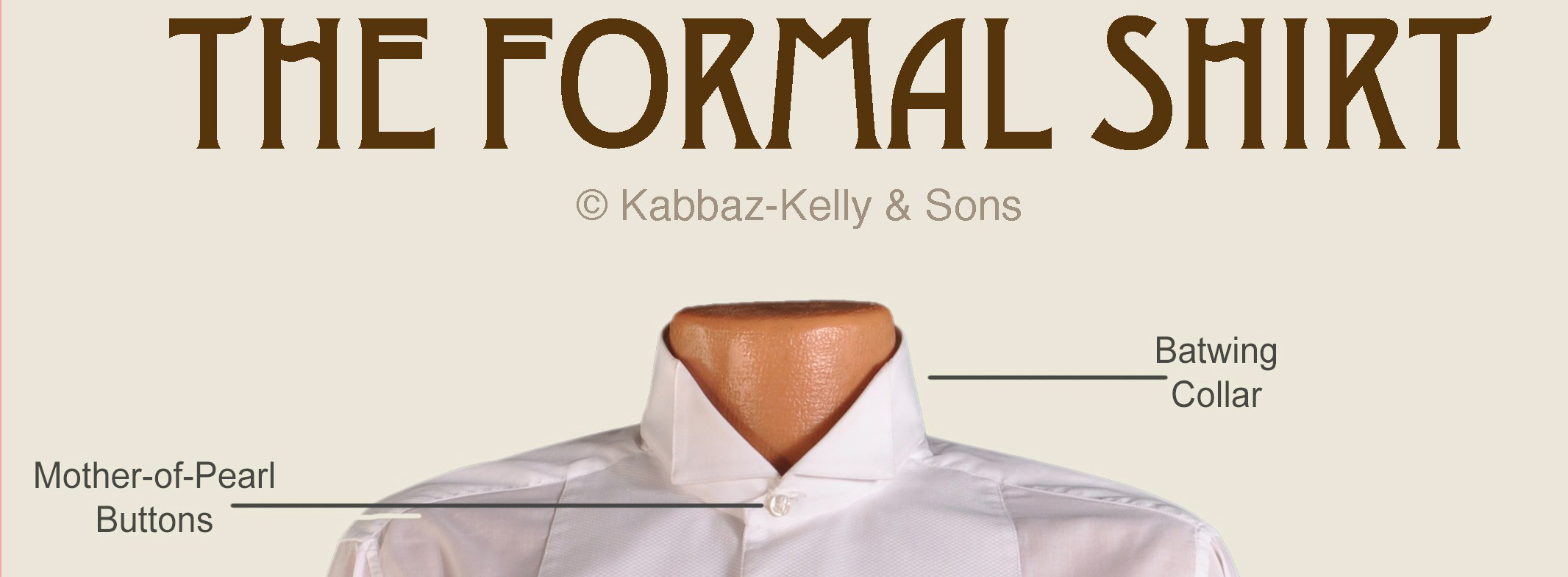 The Anatomy of a Formal Shirt | Styleforum