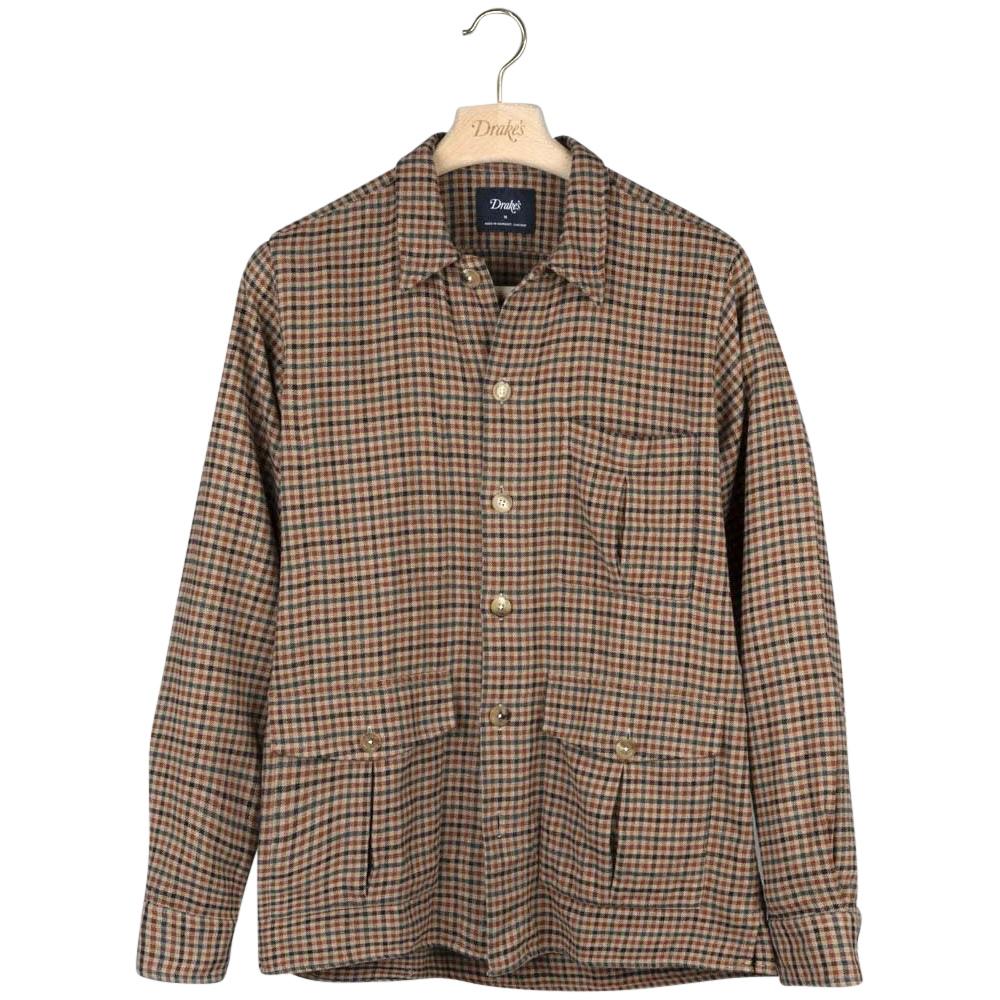 drakes-brown-gun-check-cotton-flannel-overshirt.jpg