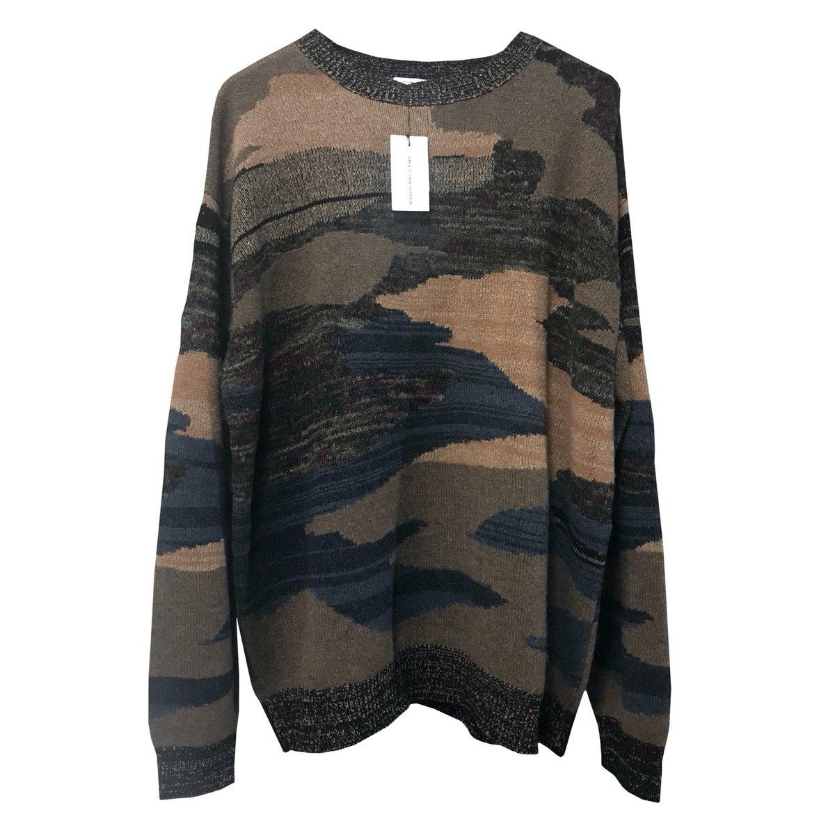 Dries Van Noten Napel Camo Cashmere Sweater.jpg