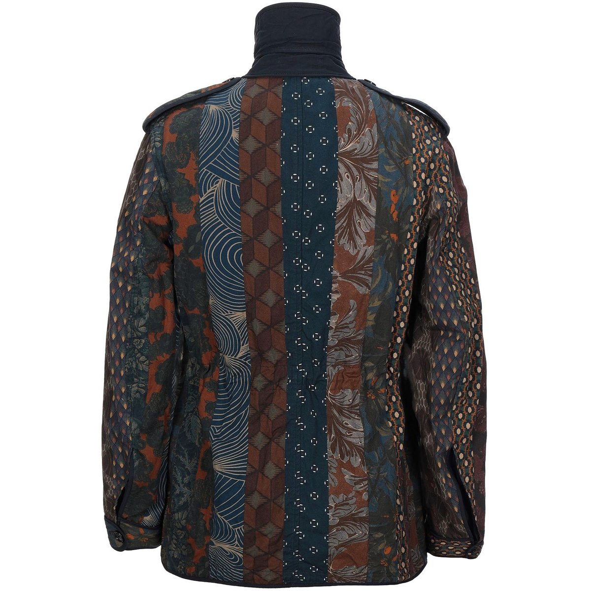 Dries Van Noten Patchwork Print Safari Jacket3.jpg