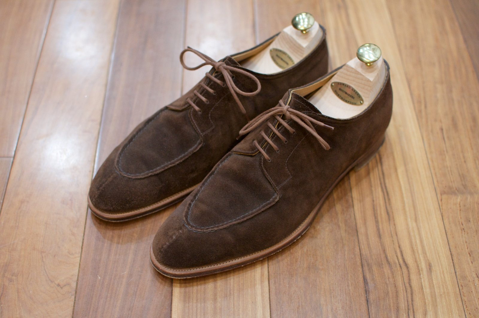 Edward Green Otter Suede Dovers - 2020-02-19 - 1.jpg