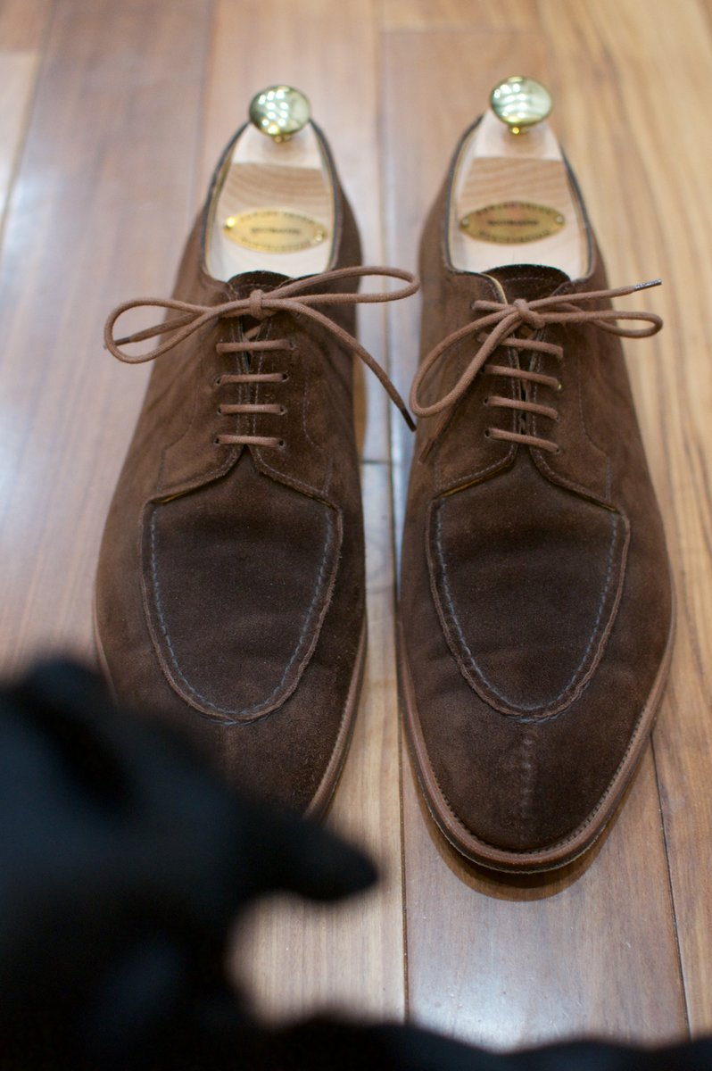 Edward Green Otter Suede Dovers - 2020-02-19 - 2.jpg