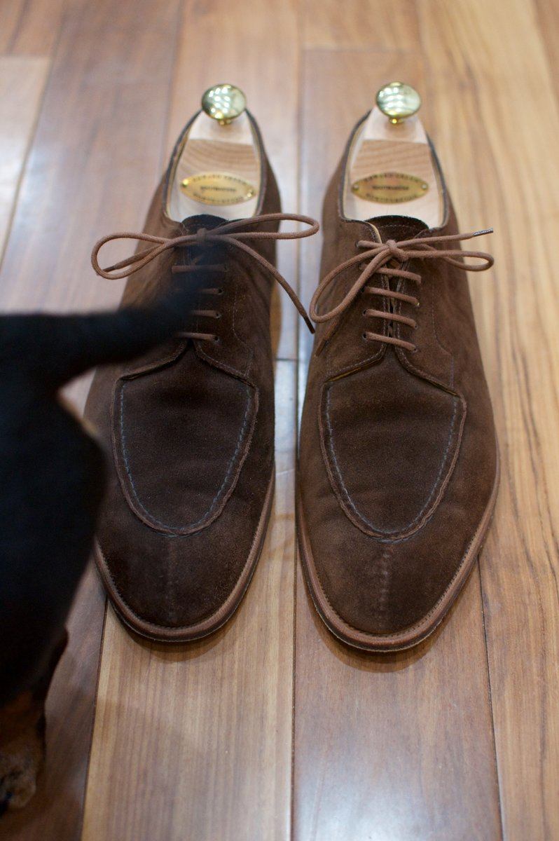 Edward Green Otter Suede Dovers - 2020-02-19 - 3.jpg