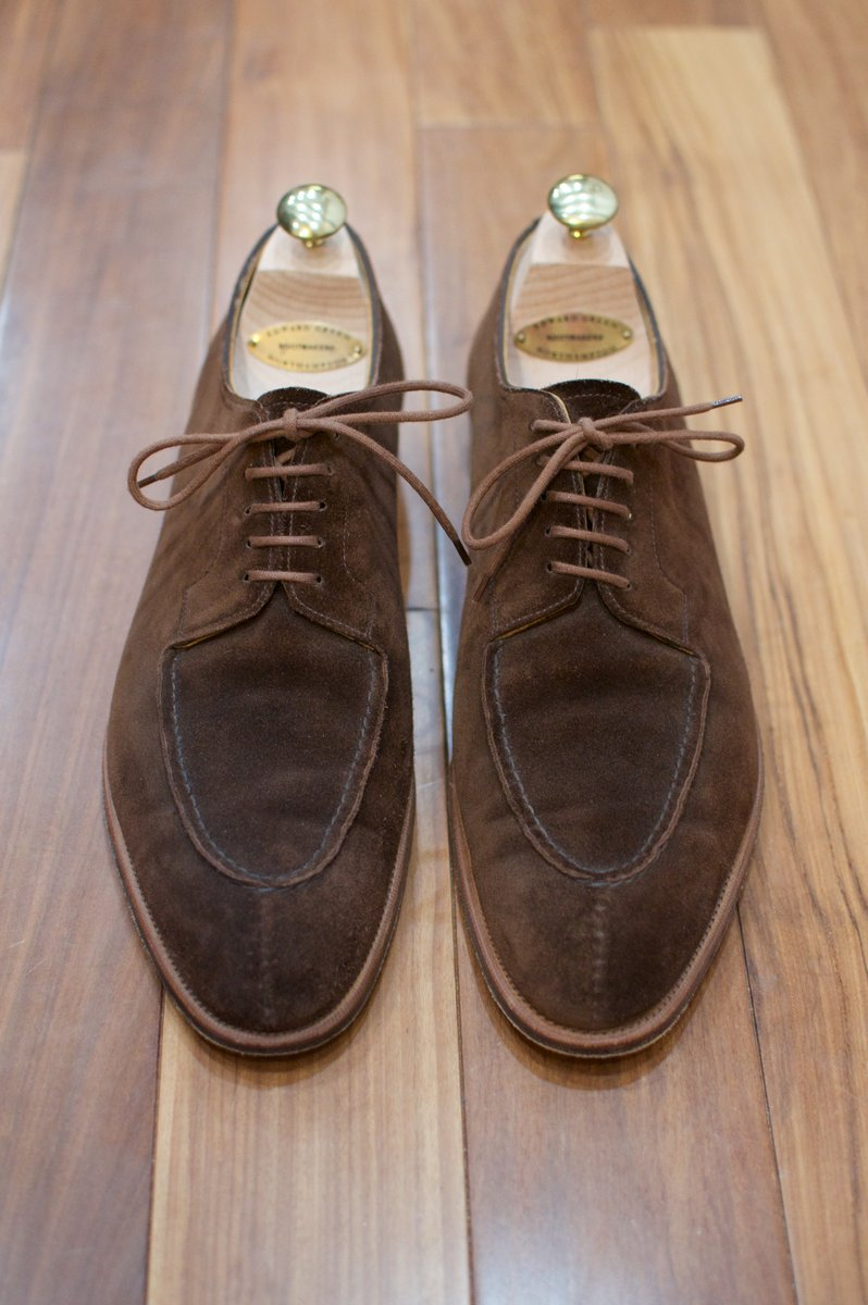 Edward Green Otter Suede Dovers - 2020-02-19 - 4.jpg