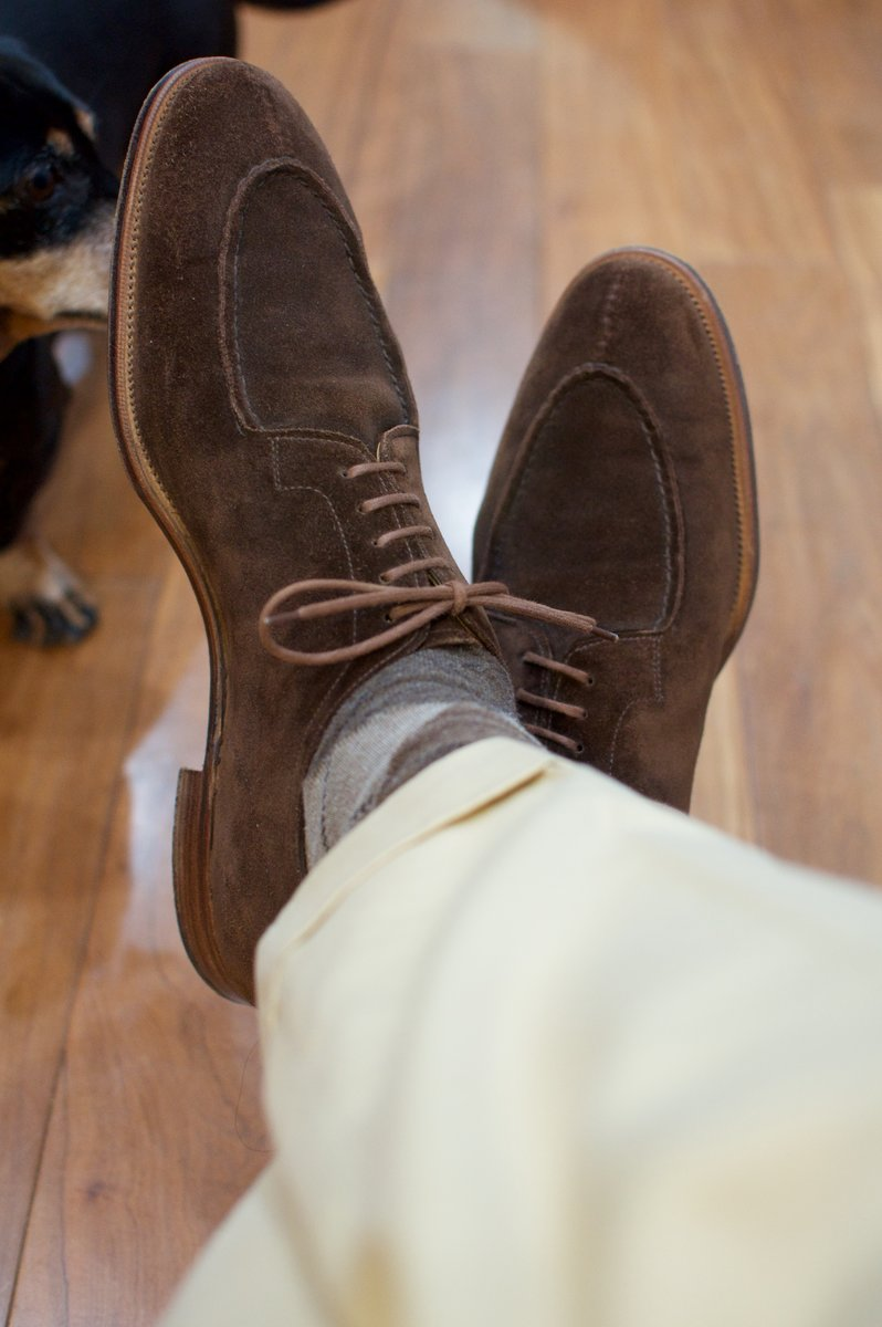 Edward Green Otter Suede Dovers - 2020-02-19 - 9.jpg