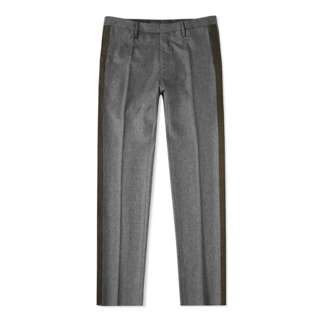 Eidos gray wool side band pants.jpg
