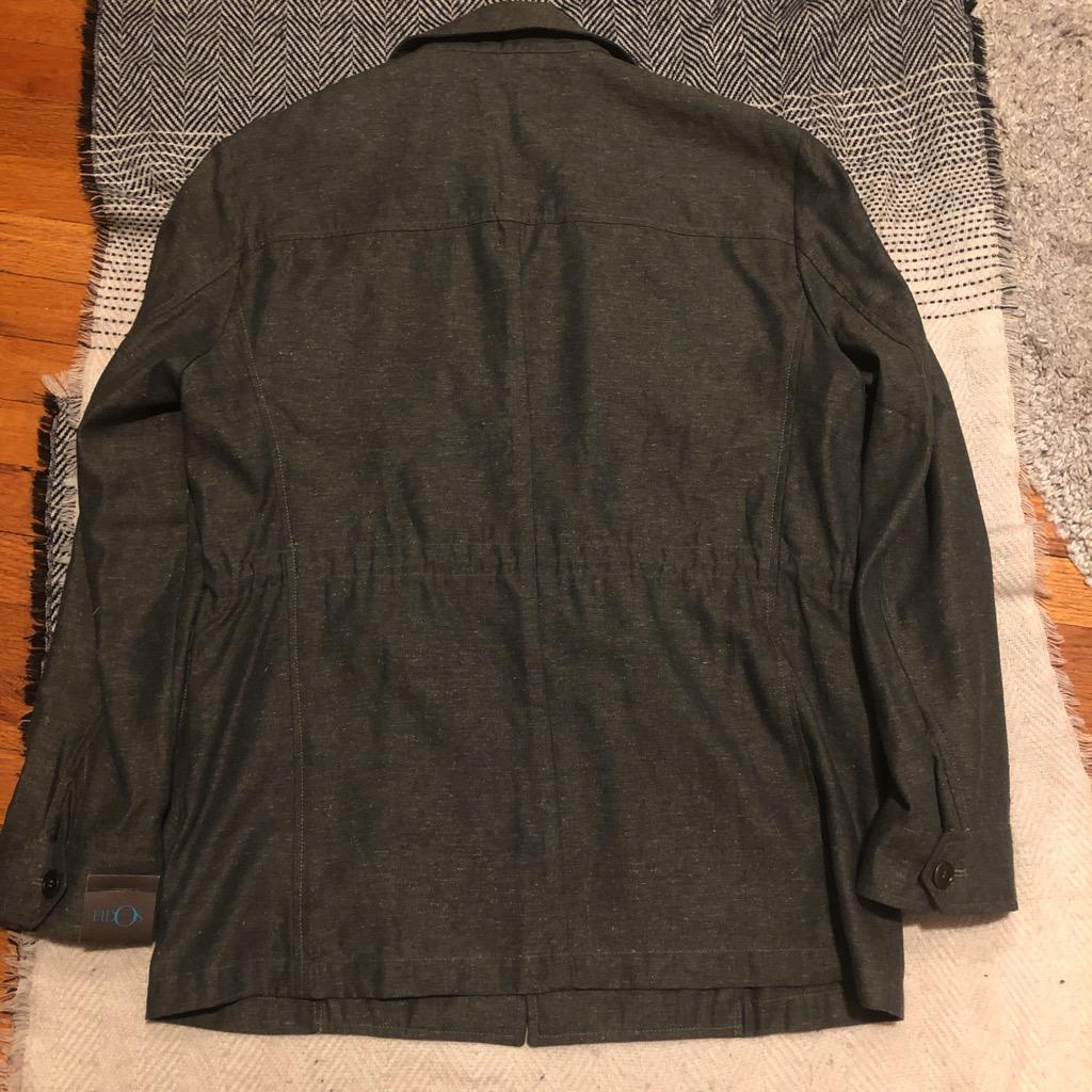 Eidos Ragosta olive silk:linen field jacket in size 54_5.jpg