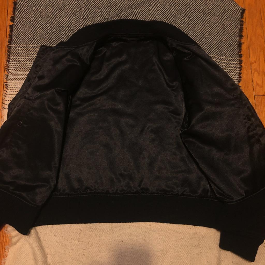Engineered Garments aviator jacket in melton wool red:black big plaid in size XL_3.jpg